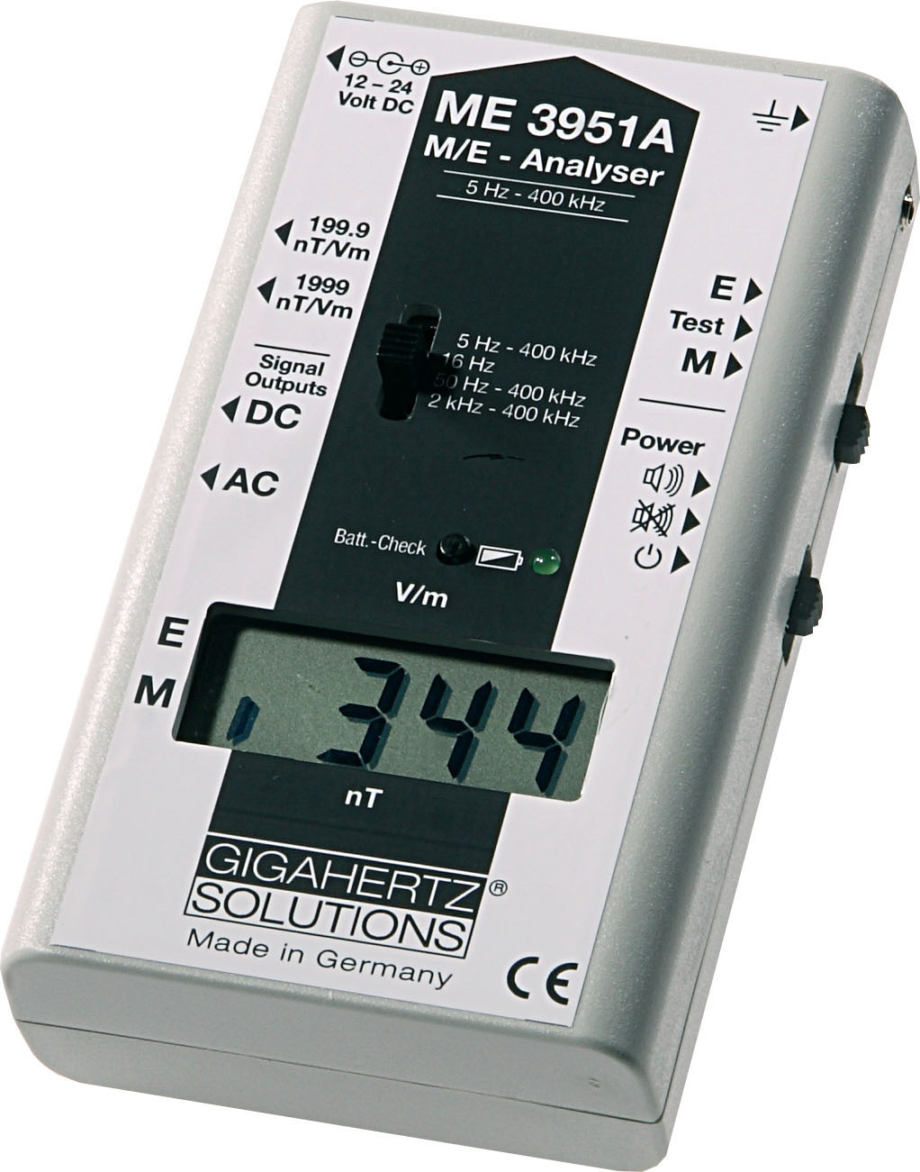 ME3851A and ME3951A EMF Meter Video