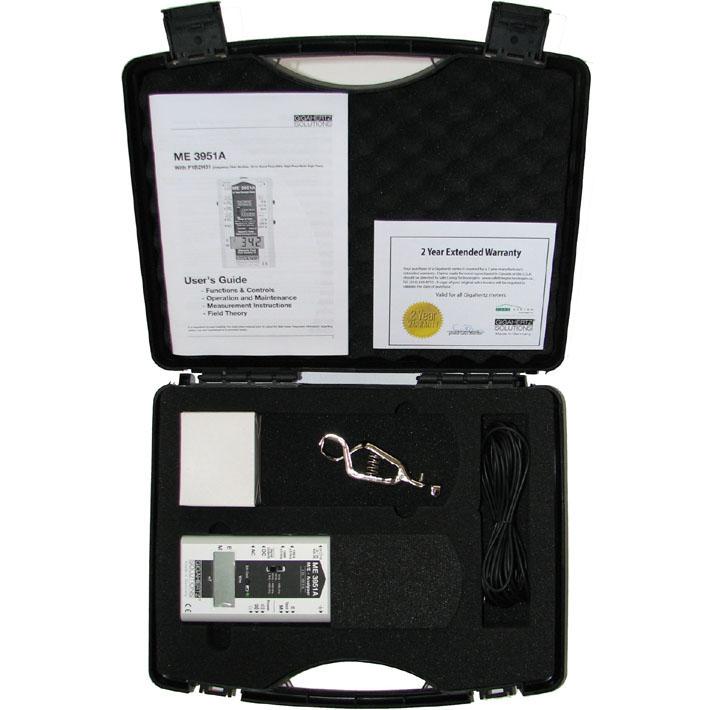 ME3951A EMF Meter By Gigahertz Solutions  Professional EMF Meter